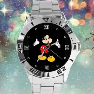 Mickey Mouse Disney Watch in Classic Pose NEW!